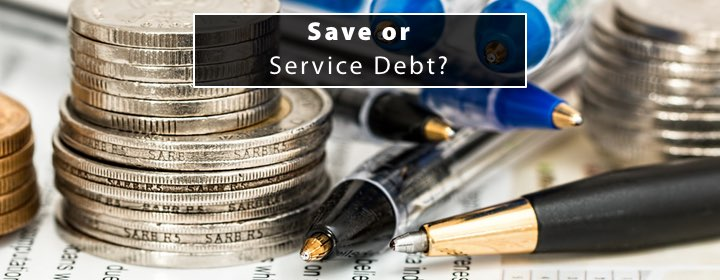 Save or service debt 1