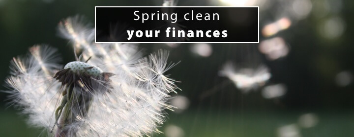Spring clean your finances 1