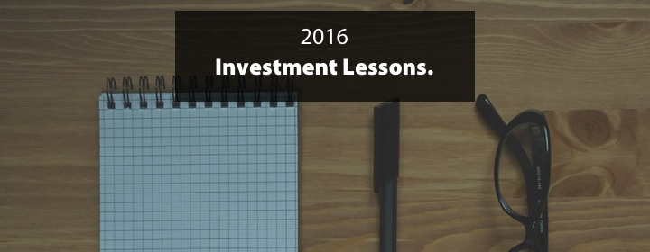 Lessons learned from investing in 2016 1
